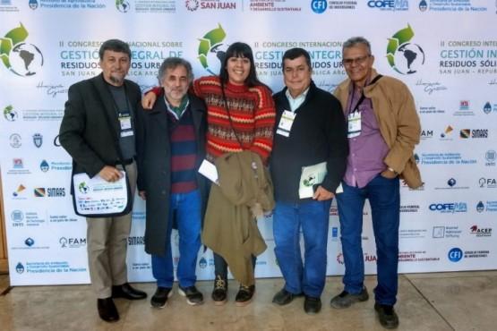 De limpiar Río Gallegos al Congreso Internacional de Gestión de Residuos