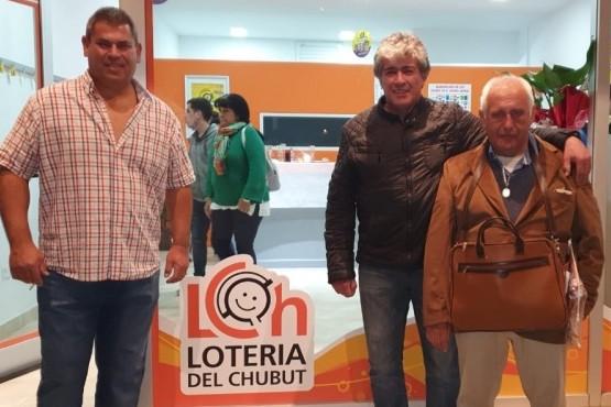 Lotería del Chubut participó de la inauguración de una nueva agencia