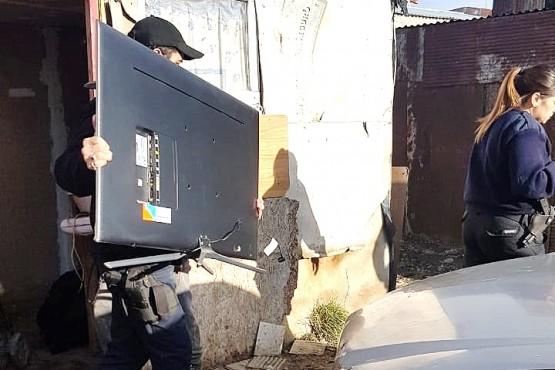 Terminó detenido tras robar en una vivienda