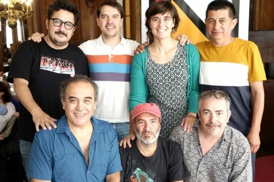 Representantes de Patagonia en el INT.