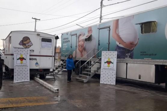 Unidad Sanitaria Móvil de Ushuaia atiende en Tolhuin