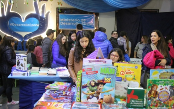 Canto destacó la gran participación en la Feria del Libro