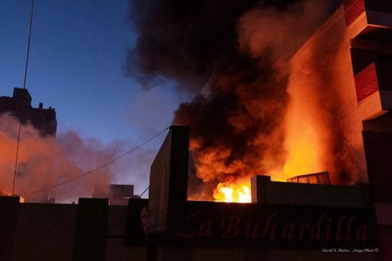 Incendio en La Buhardilla: confirmaron que faltaba la plata de la caja registradora