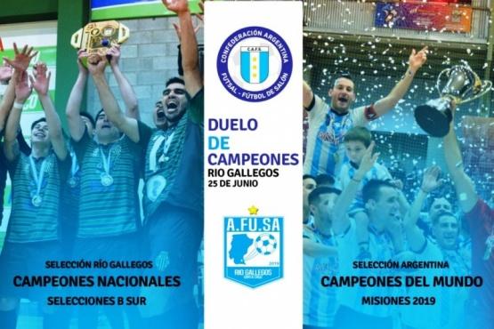 Más detalles del duelo de campeones en Río Gallegos