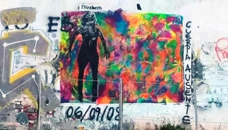 Mural Cuerpas Ausentes