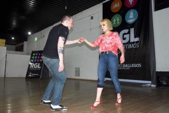 Taller de Tango en el salón Espacio Futura