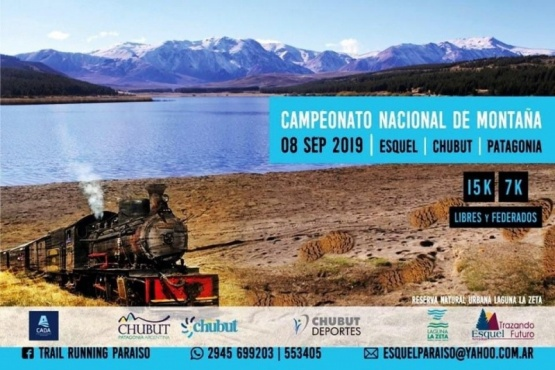 Provincia acompaña Campeonato Nacional de Carrera de Montaña