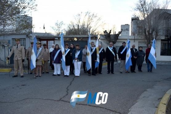 Prades presidió los actos en homenaje al General Belgrano