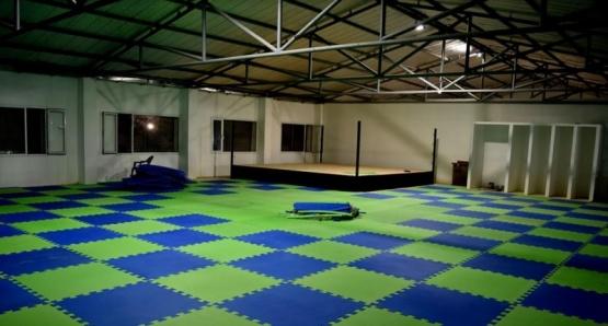 Falta poco para inaugurar el gimnasio Enrique Mosconi
