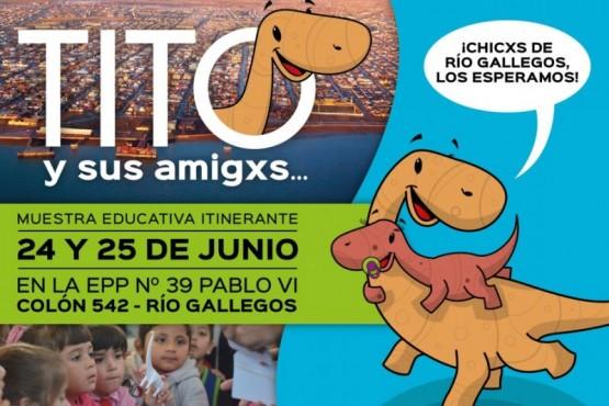 """""""Tito y sus amigxs"""" llega a Río Gallegos"""