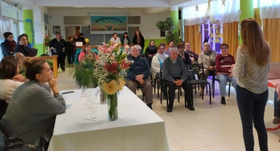Jornada sobre abordaje institucional en el adulto mayor