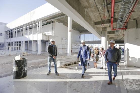 Autoridades recorrieron la obra del nuevo Hospital de Alta Complejidad