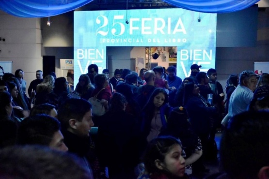 Organismos del Gobierno provincial en la Feria del Libro