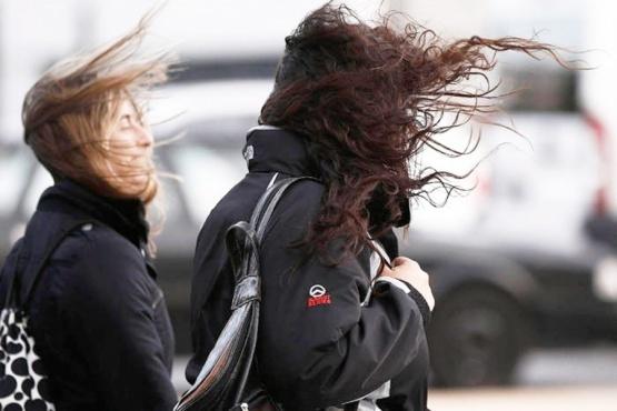 Alerta meteorológico por vientos intensos