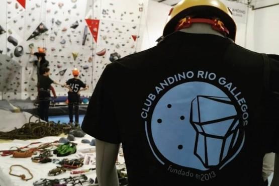 El Club Andino de Río Gallegos funciona desde 2013.
