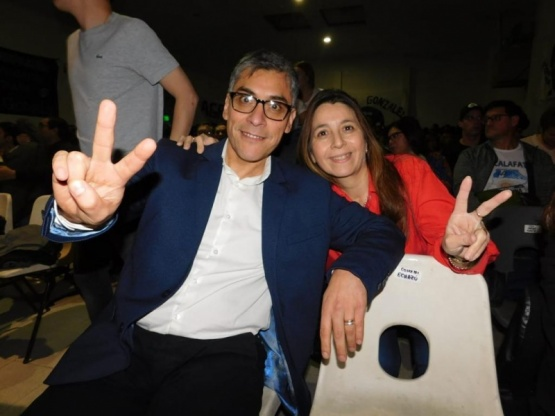 Echazú y Picuntureo, candidatos a Diputados por Río Gallegos