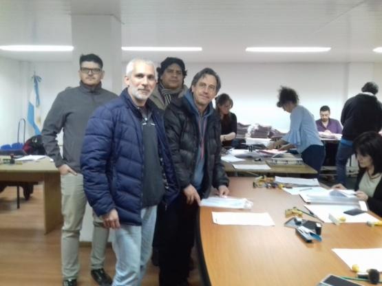 Izquierda Unidad presentó a Latini y Wasquin como candidatos