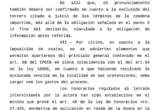Fallo de la Cámara Federal de Comodoro Rivadavia.