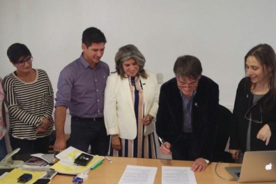 Referentes de Nación visitan la UNPA en el cierre del plan de mejora de ciencia y tecnología