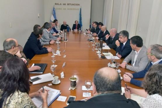 El Gobierno Provincial analizó la reforma de la Ley de Ministerios