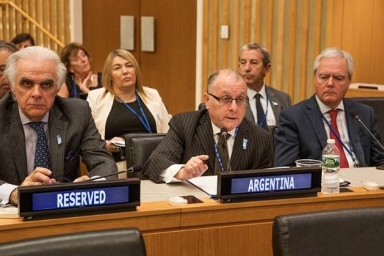 Fueguinos reclaman ante la ONU en Nueva York