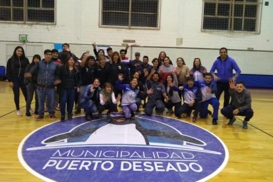 Jornadas de promoción del deporte en Deseado