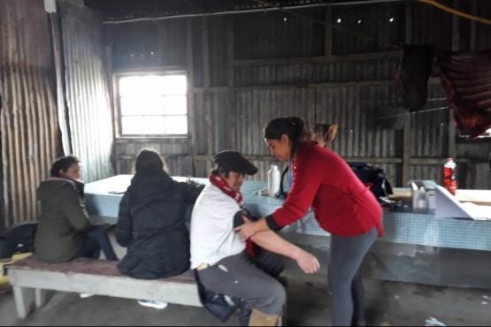 Campaña de Sanidad Rural recorrió rutas provinciales
