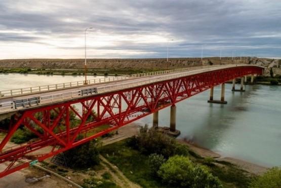 Mañana a las 10:00 se cortará el puente sobre Río Santa Cruz
