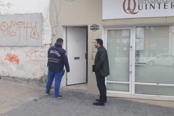 Allanamiento en Comodoro Rivadavia