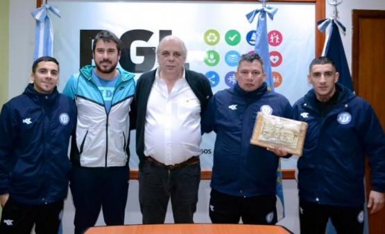 Giubetich recibió a la selección nacional de Futsal