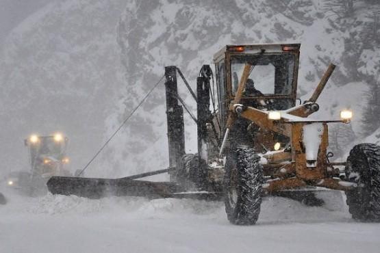 Ushuaia bajo un temporal de frío polar