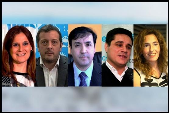 Vessvessian, Perincioli, Grasso, Chávez, y García, candidatos.