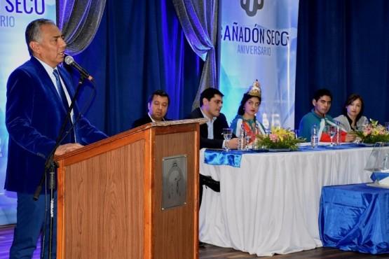 El gobierno participó en el 75º aniversario de Cañadón Seco