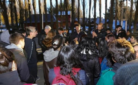 Municipio de Calafate escuchó el reclamo de los alumnos