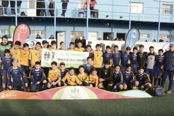 Los chicos de Boca se lucieron en fútbol.