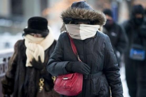Advierten irrupción de aire frío en la Patagonia y las mínimas podrían alcanzar los -12°C