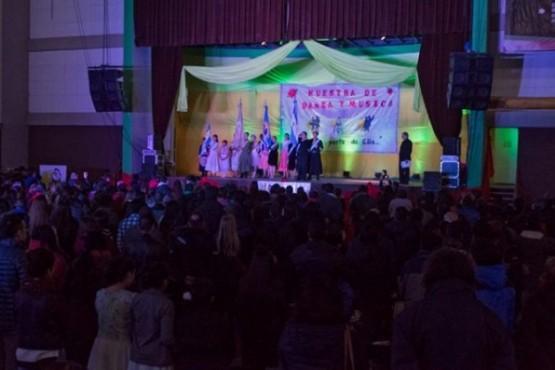 Se realizó la 1ª Muestra de la Escuela Provincial de Danzas