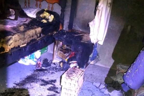 Falleció la mamá del trágico incendio en el Barrio Progreso