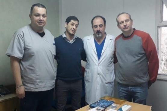Entregaron equipamiento para trasplante de córnea al HRRG