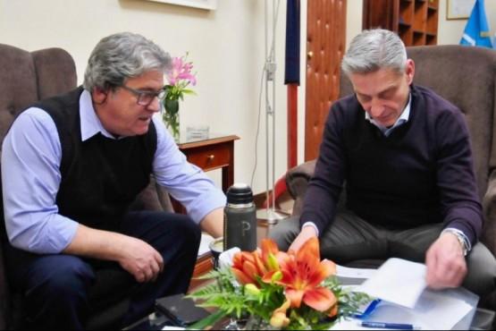 Arcioni recibió al Jefe Comunal de Ricardo Rojas