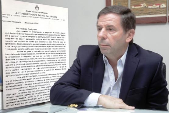 Leal de Ibarra le envió ayer un escrito al apoderado de Nueva Santa Cruz.