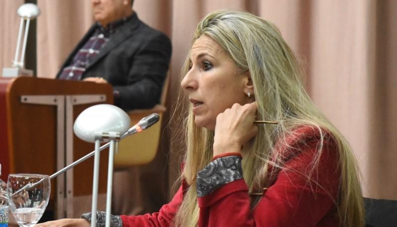 Diputada de Cambiemos, Jacqueline Caminoa.