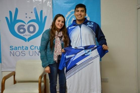 Fernando Vázquez representará en el mundial de Jiu Jitsu