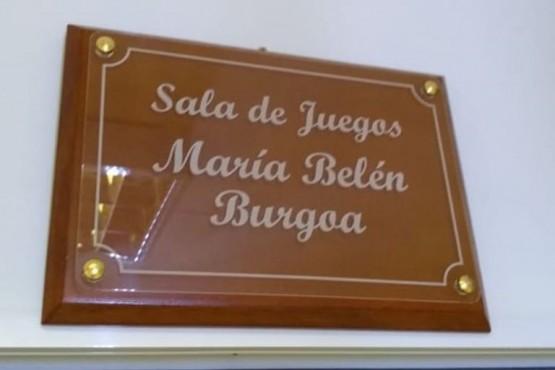 """Nombraron """"María Belén Burgoa"""" la Sala de Juegos de la OVD"""