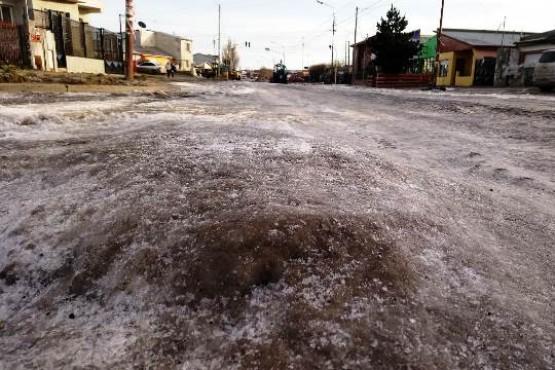 La Patagonia bajo cero: la ST llega a -13.7°C