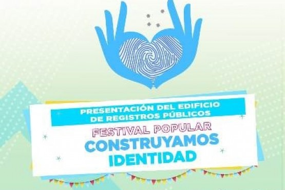 Realizarán un festival popular en la inauguración del nuevo Edificio de Registros Públicos.