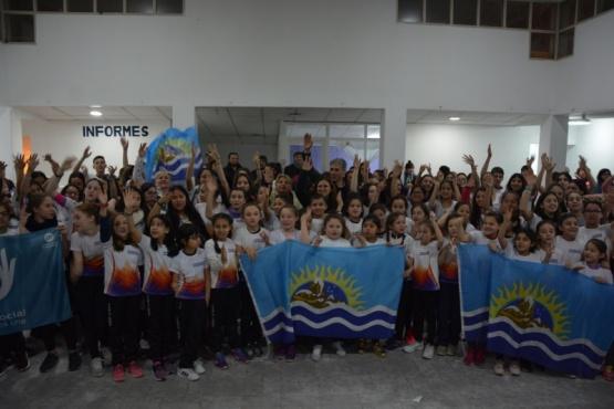 Gobierno acompañó a 130 patinadores en Caleta Olivia