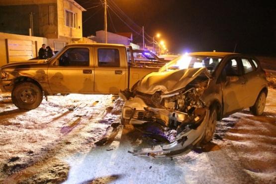 Una persona trasladada al hospital tras nueva colisión