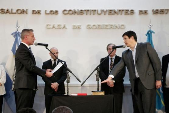 Aguirre y Meiszner asumieron en Chubut