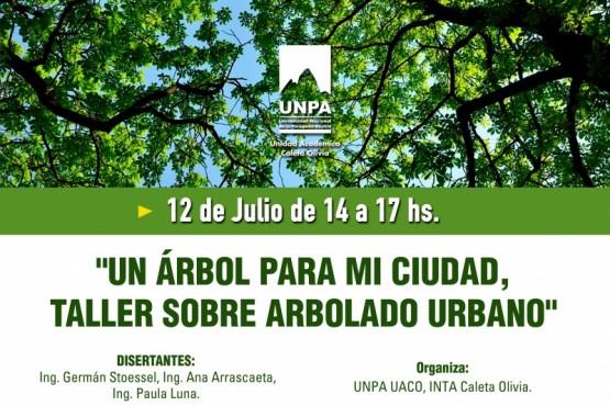 Se realiza taller gratuito de Arbolado Urbano